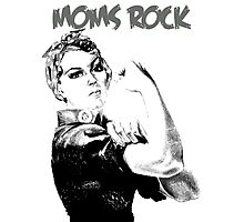 MOMS ROCK Photographic Print