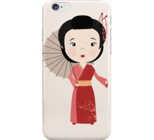 Chinese woman iPhone Case/Skin