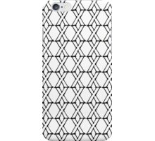 Black and White X iPhone Case/Skin