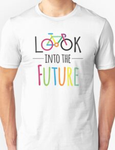 Cycling Bicycle Cycle Funny Cyclist Colorful  T-Shirt