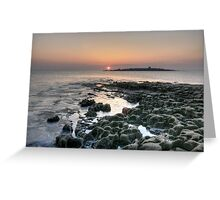 Doolin sunset Greeting Card