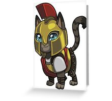 Brutus the Bold Greeting Card