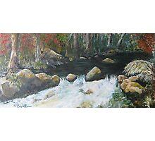 Micalong Creek Photographic Print