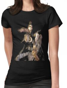 """""""Lets dance, boys!"""" Womens Fitted T-Shirt"""
