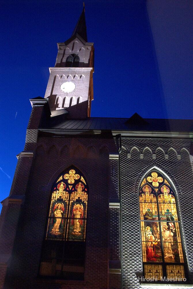 St. Mary Catholic church  by Hiroshi  Maeshiro