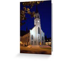 St. Mary Catholic church-2 Greeting Card