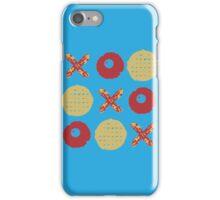 Breakfast TicTacToe iPhone Case/Skin
