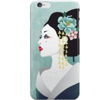 Japanese woman iPhone Case/Skin