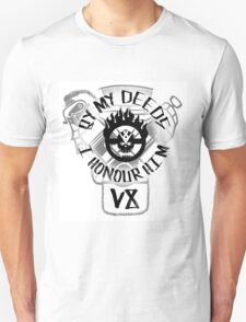 By my deeds I honour him Unisex T-Shirt