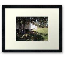 Meeting Place - Bluff  Qld Australia Framed Print