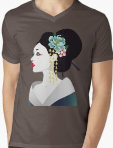 Japanese girl Mens V-Neck T-Shirt