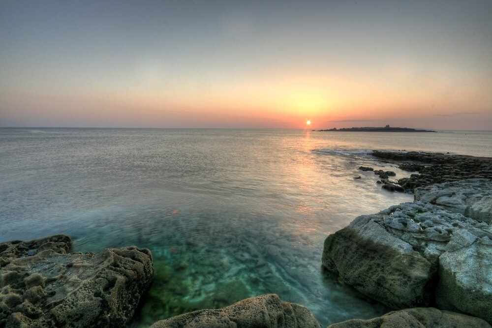 Sunset at Doolin Pier by John Quinn