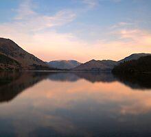 Sunset at Ullswater by James Dolan