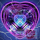 electric heart amethyst by LoreLeft27
