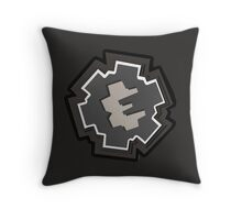 Ratchet and Clank logo Throw Pillow