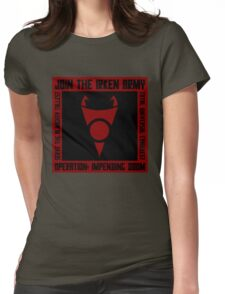 Irken Army Womens Fitted T-Shirt