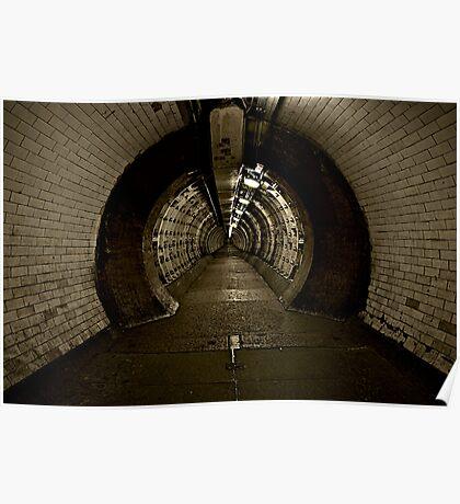 Greenwich Tunnel Poster