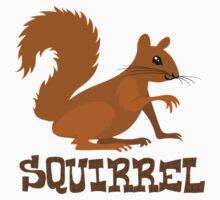 Cute: Squirrel Baby Tee