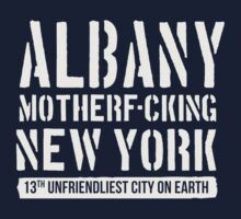 Albany, laugh at what they say by rawline