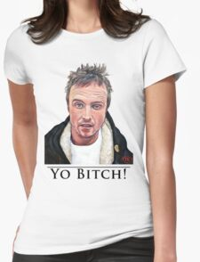 Yo Bitch Womens Fitted T-Shirt