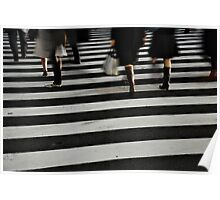 Ginza Crossing Poster