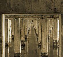 Under Windang Bridge, NSW by Belinda Doyle