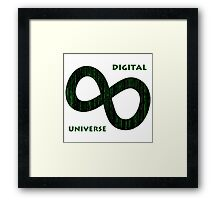 Digital Universe Framed Print
