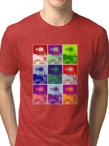Brooms Head collage tree Tri-blend T-Shirt