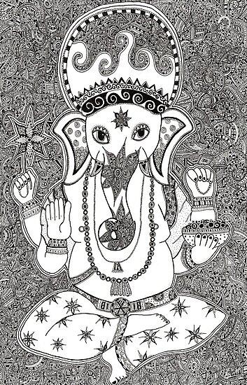 Ganesha by Zoe Gwendoline