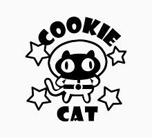 Cookie Cat - White & Black w/ text Unisex T-Shirt