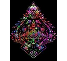 Kaleidoscopic Symmetry Photographic Print