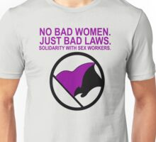 Solidarity With Sex Workers Anarcha-Feminism Unisex T-Shirt
