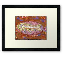 remember fish? Framed Print