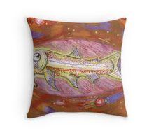 remember fish? Throw Pillow