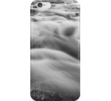 Boulder Creek In Black and White iPhone Case/Skin