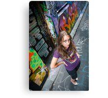 Urban Chique Canvas Print