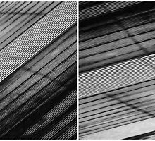 Floating Bridge (diptych 5/6) by Lenka