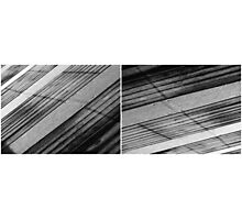 Floating Bridge (diptych 5/6) Photographic Print