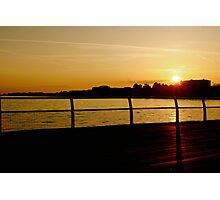 Clacton Sunset Photographic Print