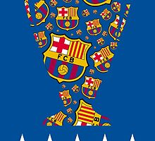 Barcelona - Champions League Winners by Seyidaga