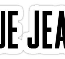 Blue Jeans Sticker