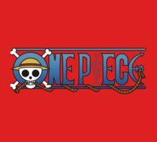 One piece logo One Piece - Short Sleeve