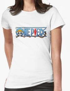 One piece logo Womens Fitted T-Shirt