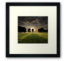Have Faith and the Light Will Find You Framed Print