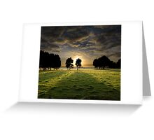 Have Faith and the Light Will Find You Greeting Card