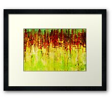 Axion abstraction 2 Framed Print
