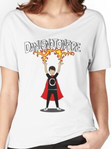 Danisnotonfire: the Superhero Women's Relaxed Fit T-Shirt