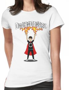 Danisnotonfire: the Superhero Womens Fitted T-Shirt
