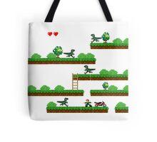 pixel jurassic p Tote Bag