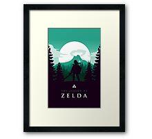 The Legend of Zelda (Green) Framed Print